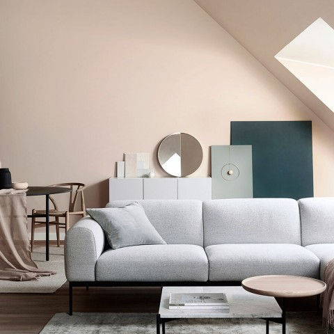 Create esteemed living room with harmonic colours